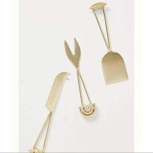 Anthropologie Franca Cheese Knives, Set of 3